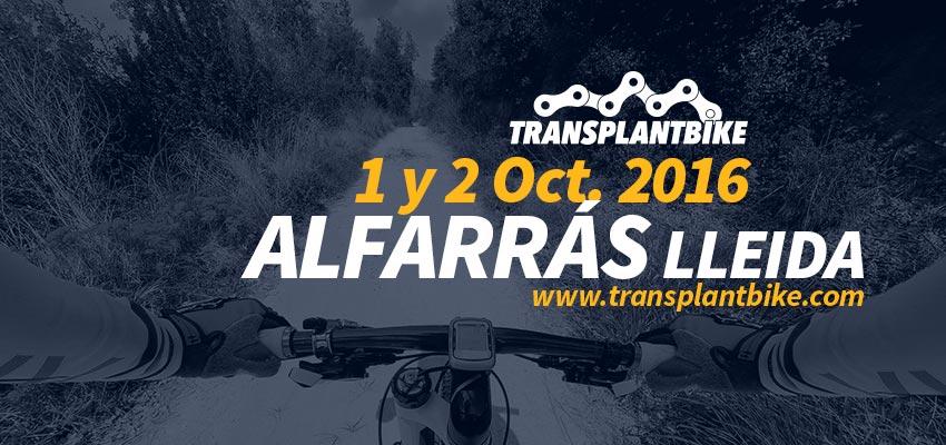 Transplant Bike Lleida 2016