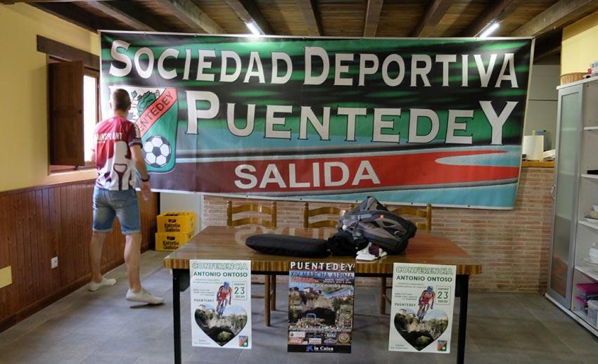 Antonio Ontoso en la Sociedad Deportiva PuentedeY