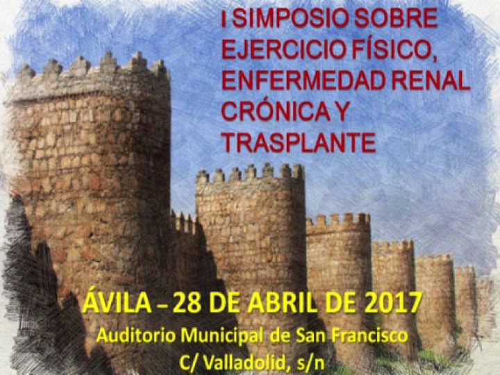 1st Symposium on Physical Exercise, Kidney Disease and Organ and Marrow Transplantation