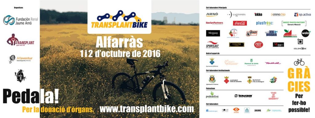 Transplant Bike Lleida2016