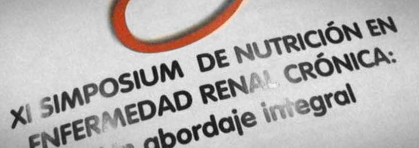 XI Simposium de Nutrición en Enfermedad Renal Crónica